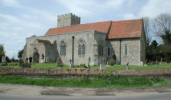 All Saints Church, Graveny, Kent